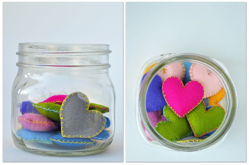 Pocket Hearts for your child - Curly Birds