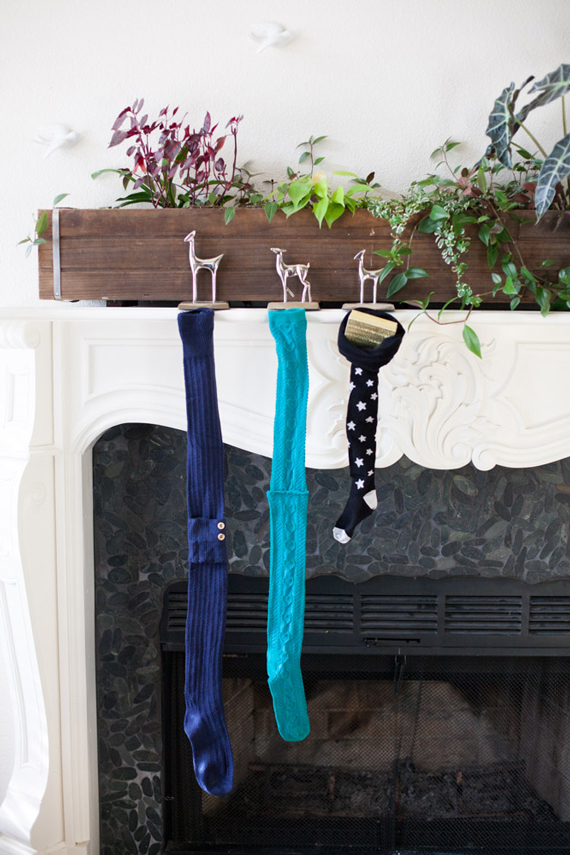 DIY Stockings from A Subtle Revelry