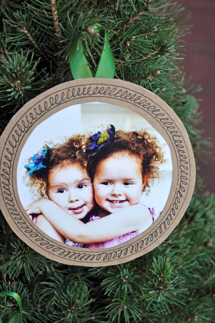 Photo Ornament  by Curly Birds