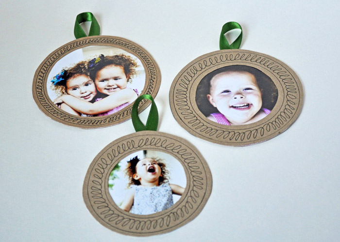 Photo Ornaments by Curly Birds
