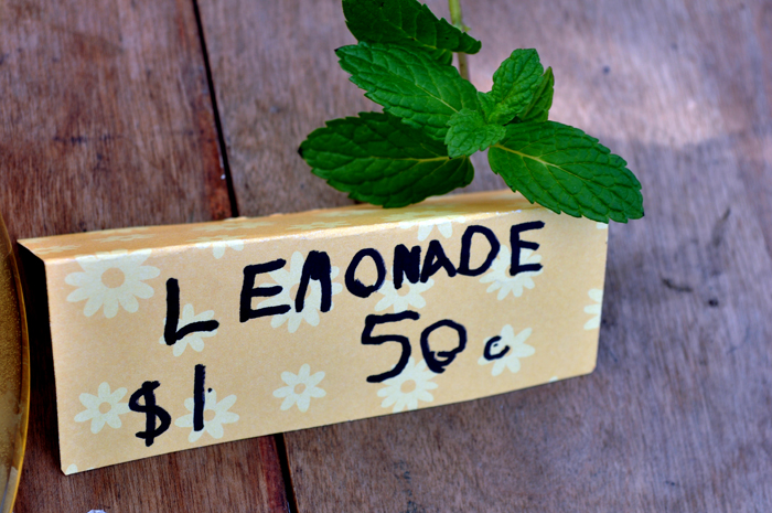 Lemonade Stand  by Curly Birds