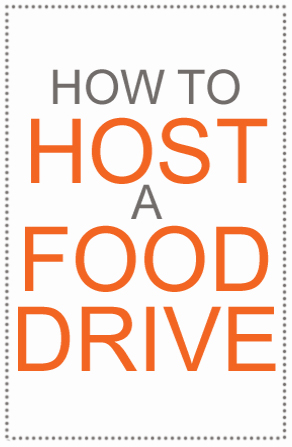 Host a Food Drive by Curly Birds