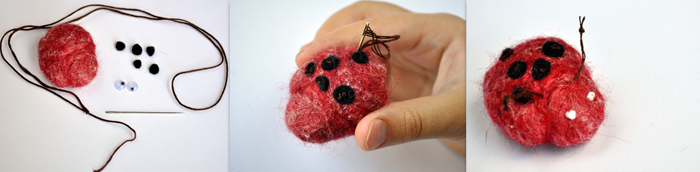 Wet-Felted-Ladybug-by-Curly