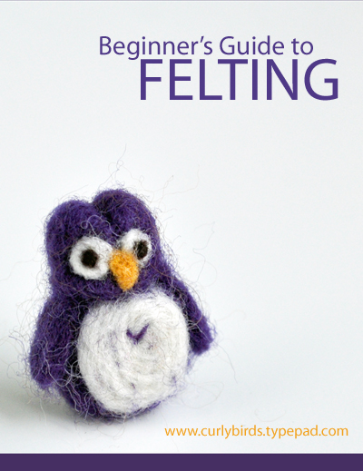 Beginner's Guide to Felting from Curly Birds 2