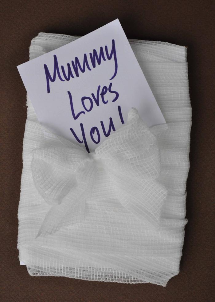 Mummy Halloween Card 5 by Curly Birds