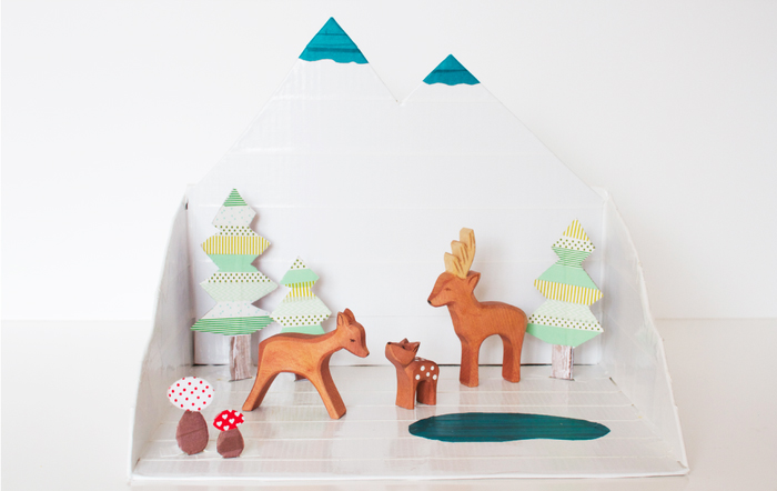 Winter Forest Diorama by Bkids