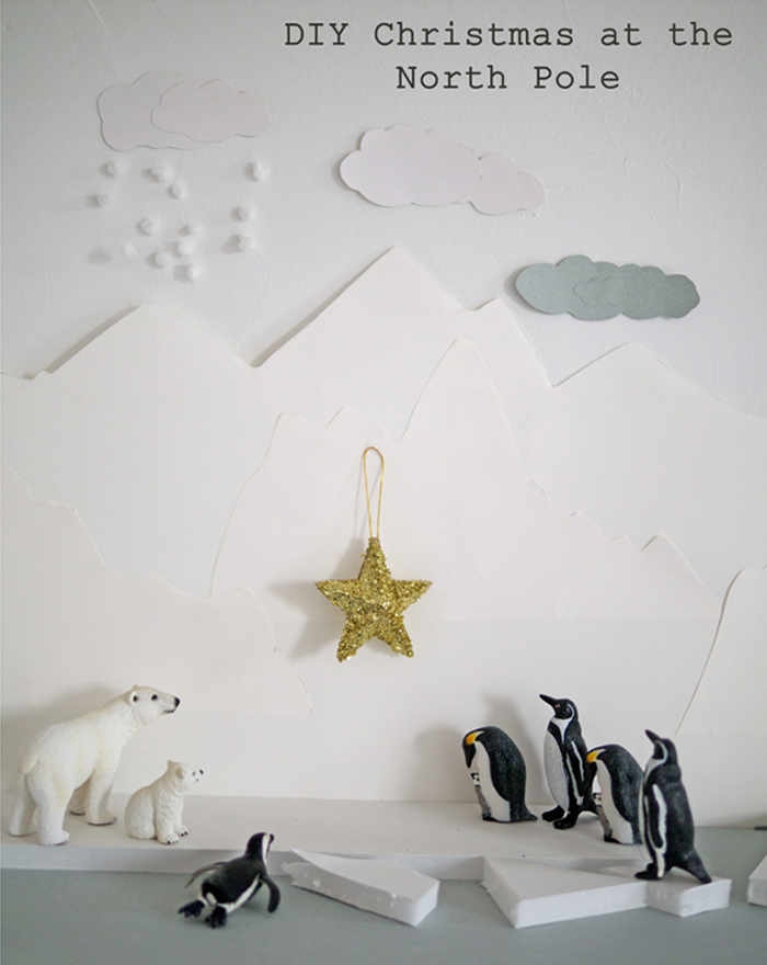 Gold Star at the North Pole by Petit a Petit and Family