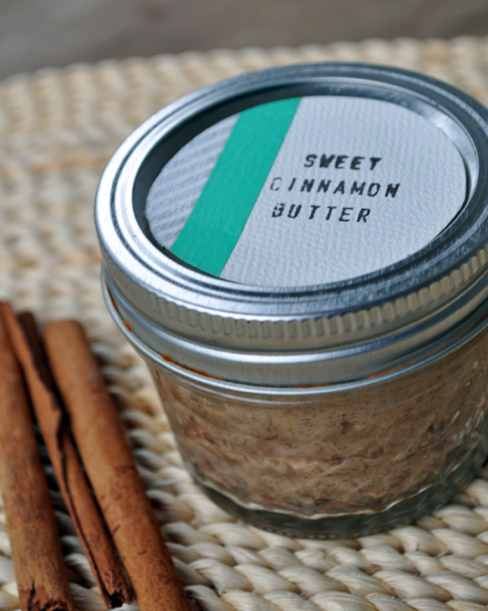 Sweet Cinnamon Butter by Curly Birds