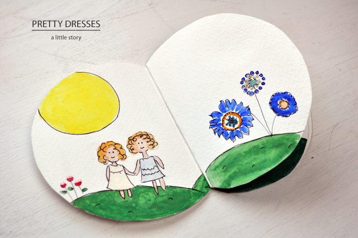 Pretty Dresses  by Curly Birds