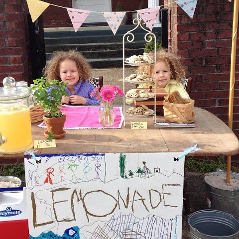 Lemonade  Stand by Curly Birds 2