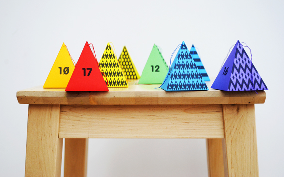 Advent Calendar from Mini Eco