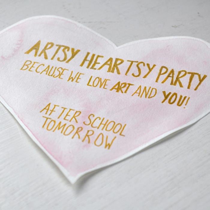 Artsy Heartsy Party 1 by Curly Birds