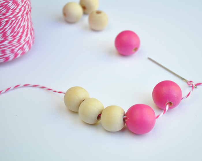 Wooden Necklace by Curly Birds 3