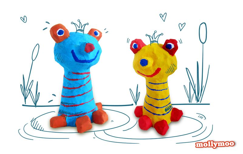 Frogs by MollyMoo
