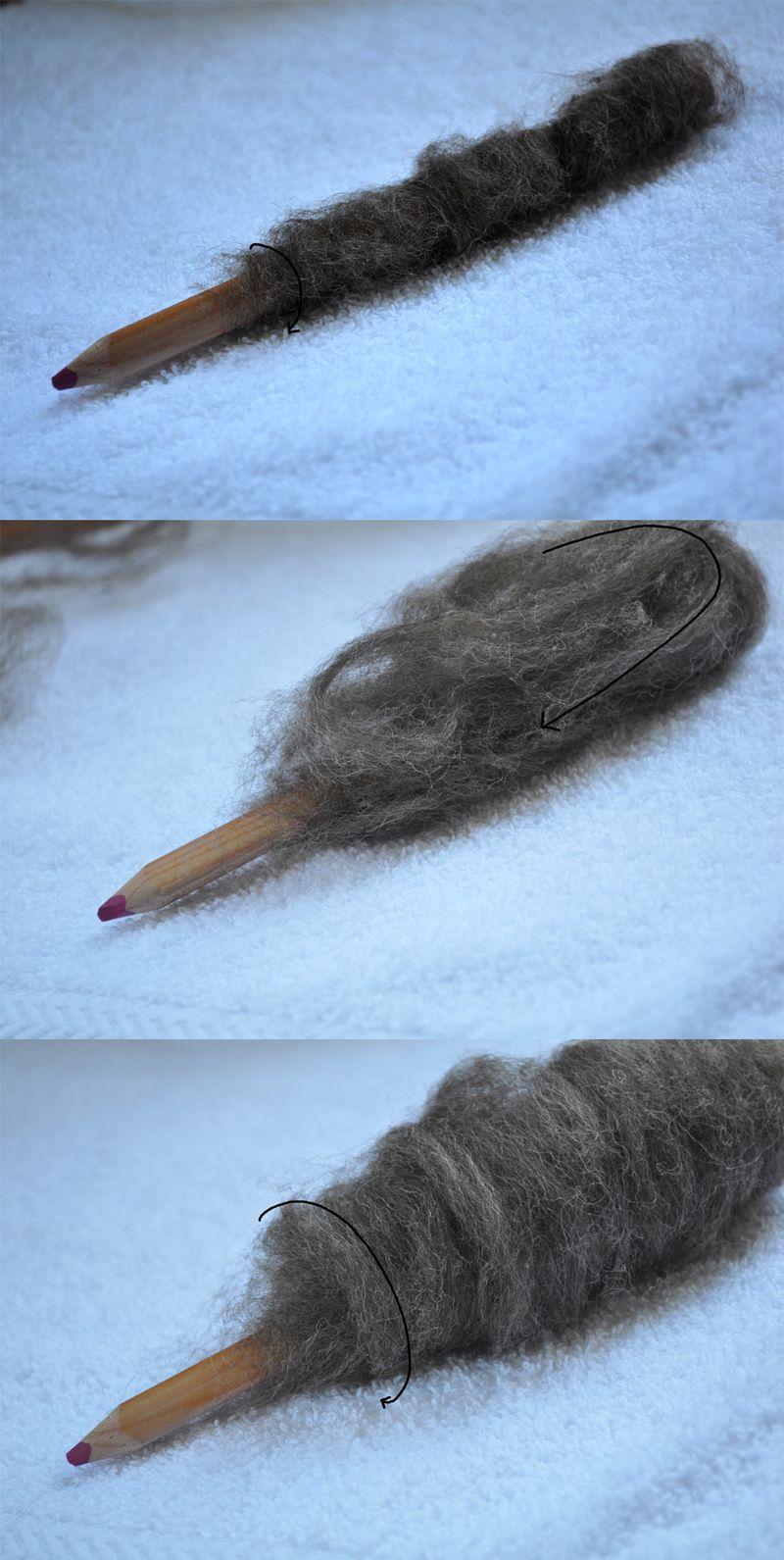 Twirly Pencil Cozy 3 by Curly Birds
